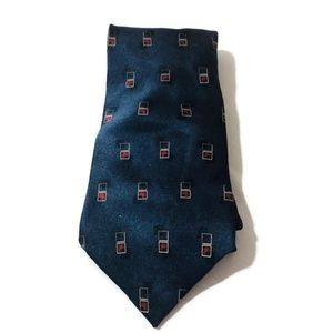 Bill Blass Black Label silk tie